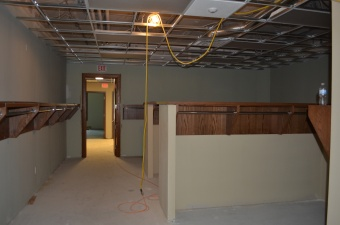 The coat room